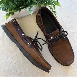 Sperry top-sider brown original leather boat shoe